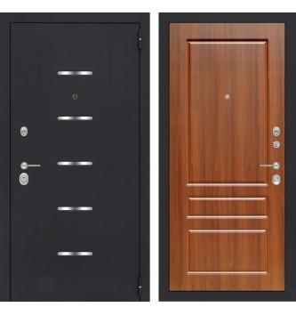 Входная дверь ALFA 03 - Орех бренди