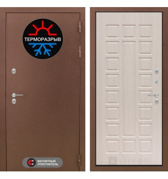 Входная дверь Термо Магнит 04 - Беленый дуб