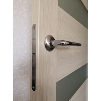 Дверь межкомнатная из эко шпона «Мастер 56003» Латте