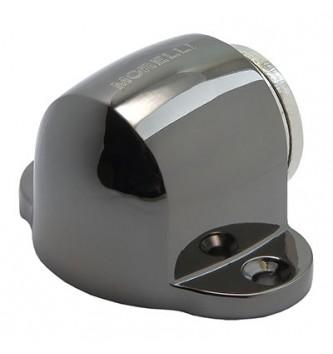 Дверной ограничитель магнитный напольный MDS-1 BN чёрный никель